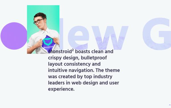 WordPress Kotisivut – Monstroid Matrix