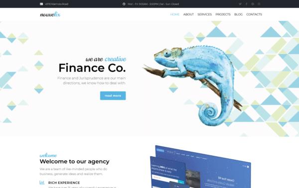 WordPress Kotisivut – Monstroid Nouvelix