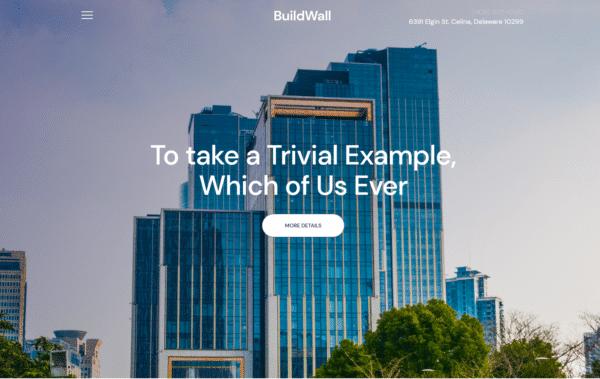 WordPress Kotisivut – BuildWall Real Estate