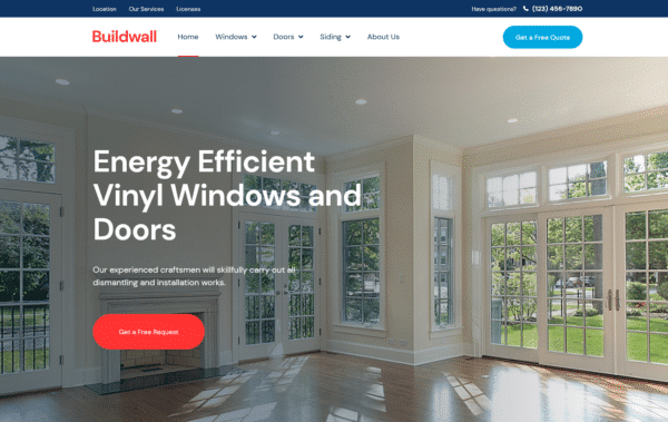 WordPress Kotisivut – BuildWall Windows and Doors