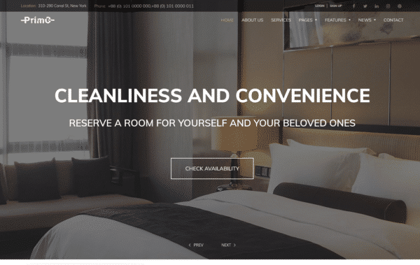 WordPress Kotisivut – Monstroid Primo