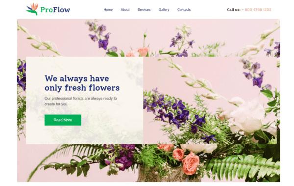 WordPress Kotisivut – XLand Florist