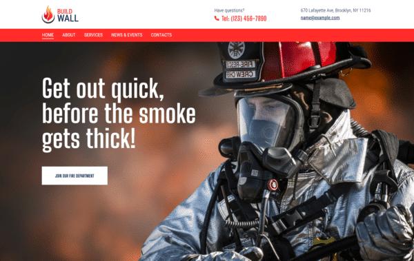 WordPress Kotisivut – BuildWall Fire Safety