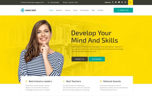 WordPress Kotisivut – Monstroid Smart Start