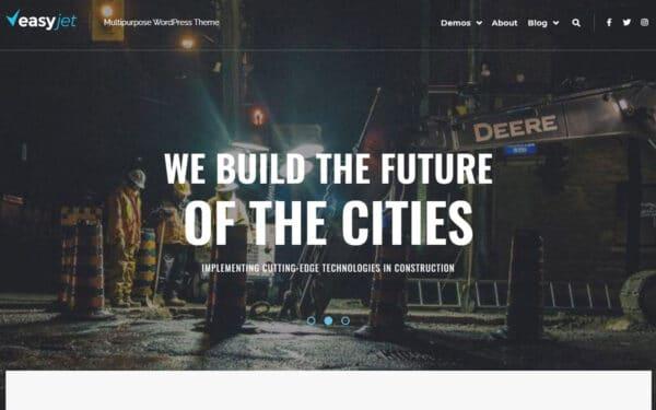WordPress Kotisivut – EasyJet Construction