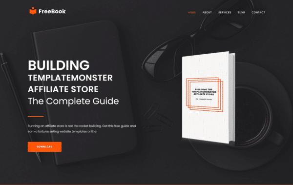 WordPress Kotisivut – Monstroid Freebook