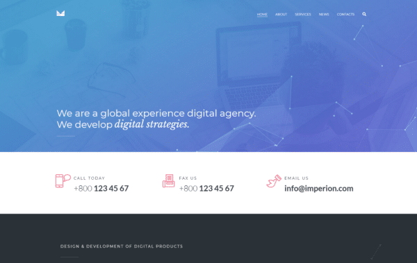 WordPress Kotisivut – Imperion experience