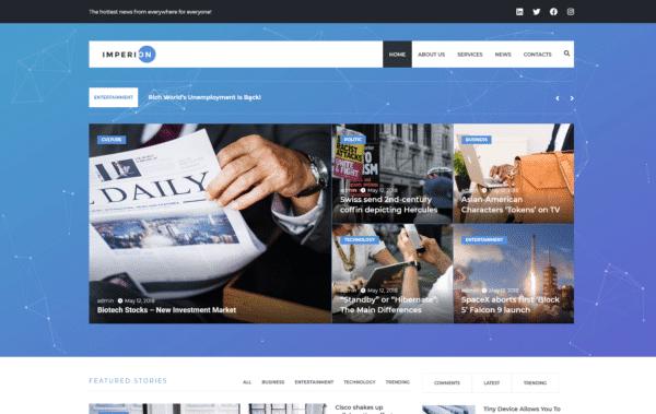 WordPress Kotisivut – Imperion blog