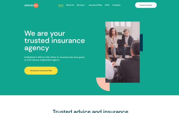 WordPress Kotisivut – Imperion Insurance Agency
