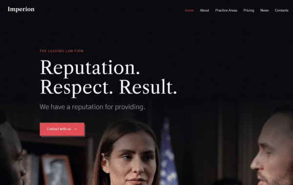 WordPress Kotisivut – Imperion Law Firm