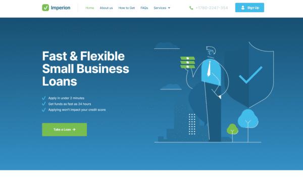 WordPress Kotisivut – Imperion Loan Company