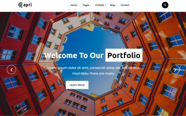 WordPress kotisivut - Papri