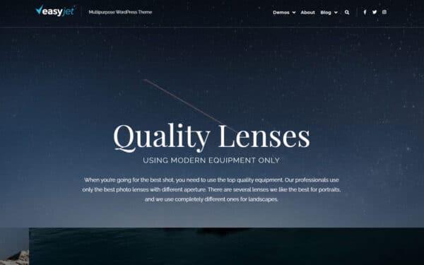 WordPress Kotisivut – EasyJet Photo Studio