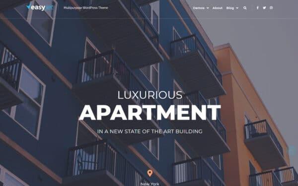 WordPress Kotisivut – EasyJet Real Estate