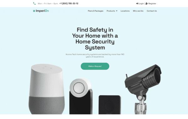 WordPress Kotisivut – Imperion Security Systems