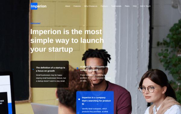 WordPress Kotisivut – Imperion startup