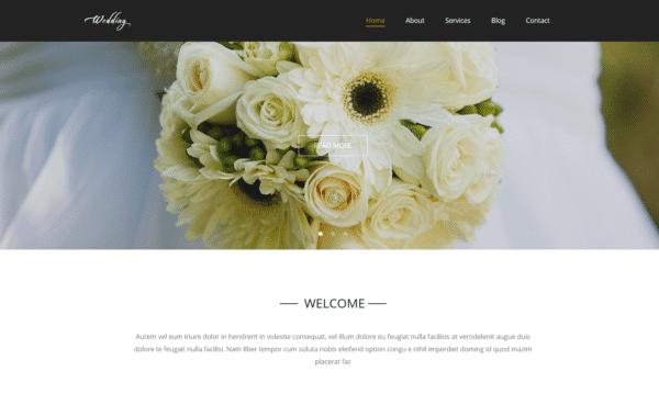 WordPress Kotisivut – Monstroid Wedding