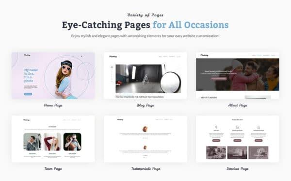 WordPress Kotisivut – Flashing