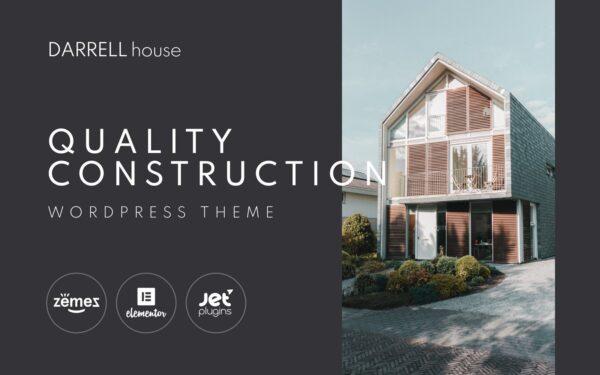 WordPress Kotisivut – Darrell house