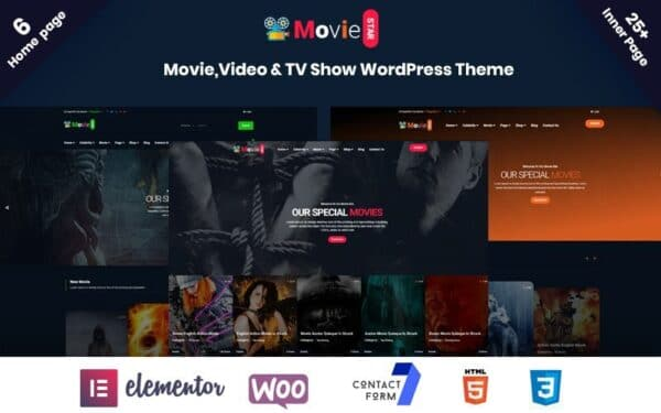 WordPress Kotisivut – Moviestar
