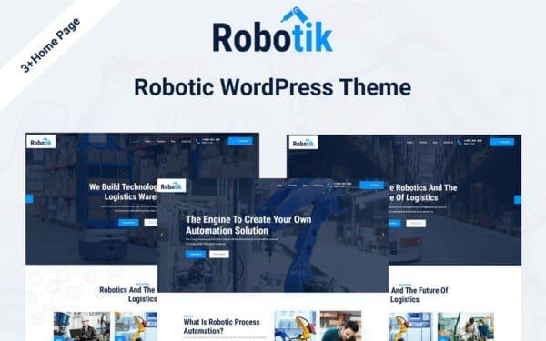 WordPress kotisivut – Robotik