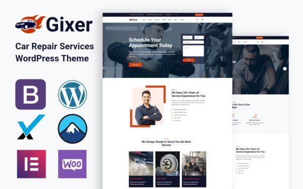 WordPress Kotisivut – Gixer