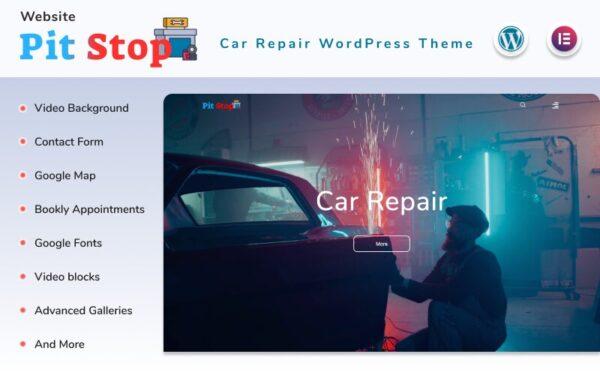 WordPress Kotisivut – Pit Stop