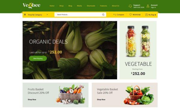 WooCommerce Verkkokauppa – Vegbee