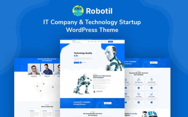 WordPress Kotisivut – Robotil
