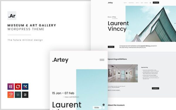 WordPress Kotisivut – Artey