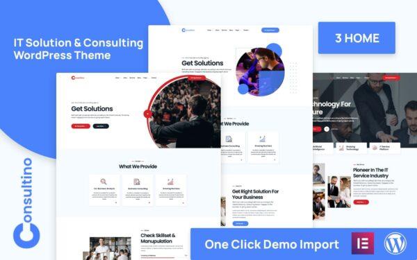 WordPress Kotisivut – Consultino