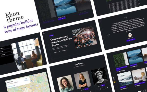 WordPress kotisivut – Khon
