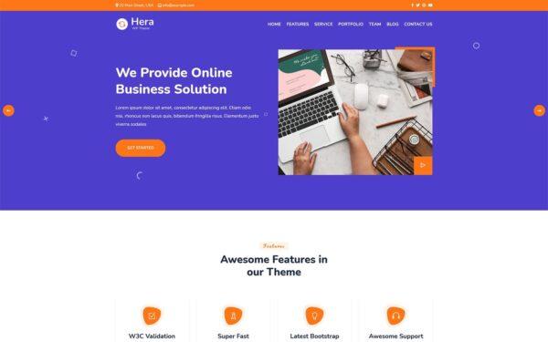 WordPress Kotisivut – Hera