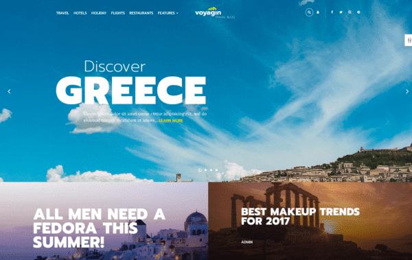 WordPress Kotisivut – 24.Storycle Travel Blog