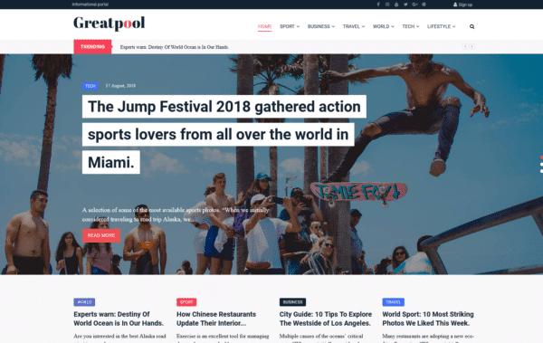 WordPress Kotisivut – 24.Storycle Clean Blog