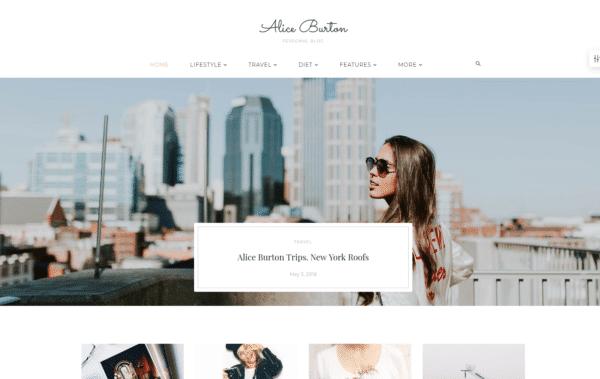 WordPress Kotisivut – 24.Storycle Personal Blog