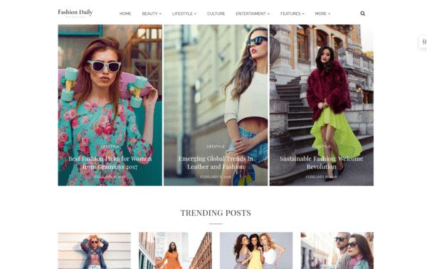 WordPress Kotisivut – 24.Storycle Fashion Blog