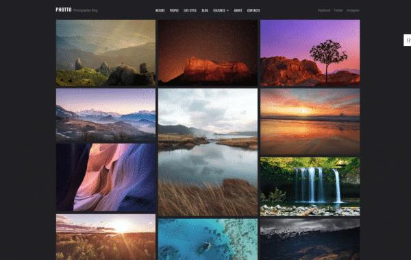 WordPress Kotisivut – 24.Storycle Photographer Blog