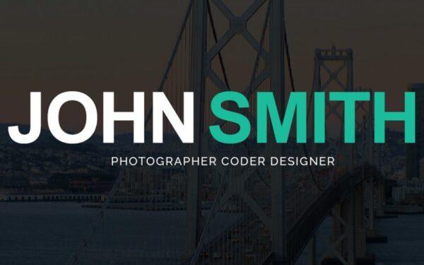 WordPress Kotisivut – John Smith