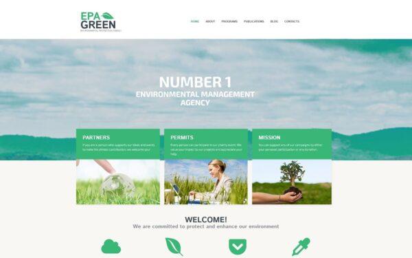 WordPress Kotisivut – EPA Green