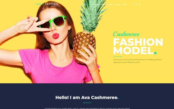 WordPress Kotisivut – Cashmeree Fashion
