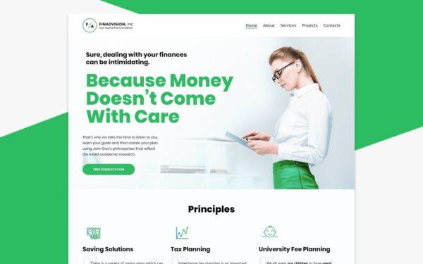 WordPress Kotisivut – Finadvision