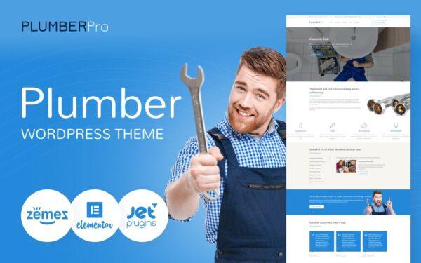 WordPress Kotisivut – Plumbing Services