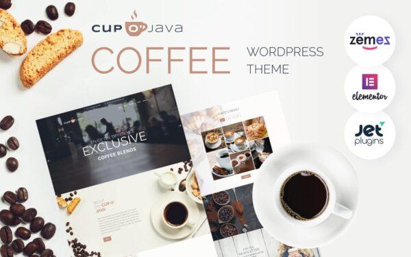 WordPress Kotisivut – Cup o' Java