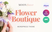 WordPress Kotisivut – Moon Flower