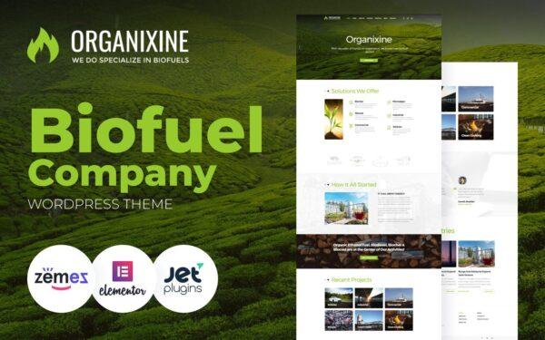 WordPress Kotisivut – Organixine
