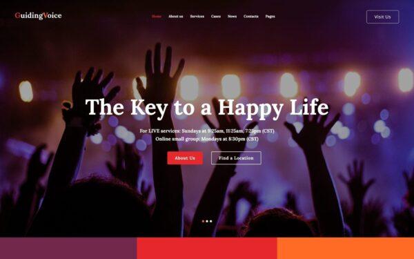 WordPress Kotisivut – Guiding Voice