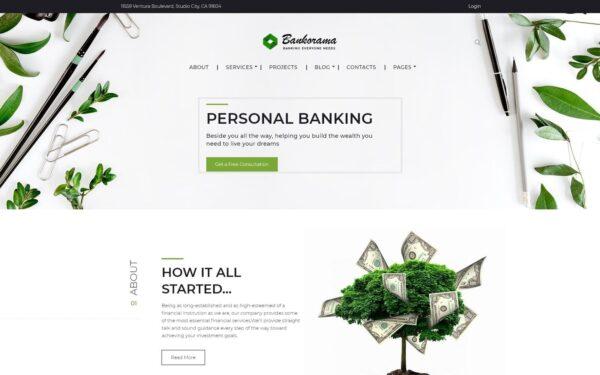 WordPress Kotisivut – Bankorama