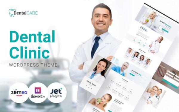 WordPress Kotisivut – DentalCare