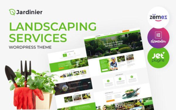 WordPress Kotisivut – Jardinier